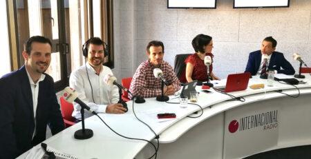 entrevista radio Internacional de German Joyero