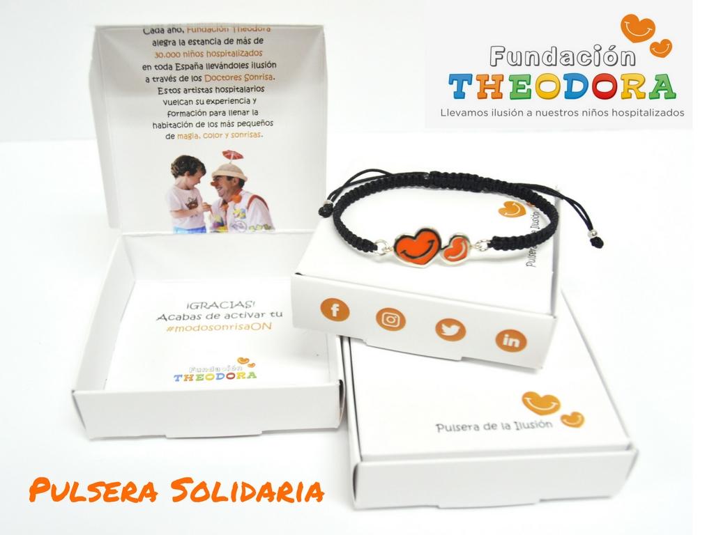 Pulsera solidaria Fundación Theodora
