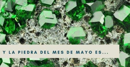 La piedra de Mayo es la esmeralda
