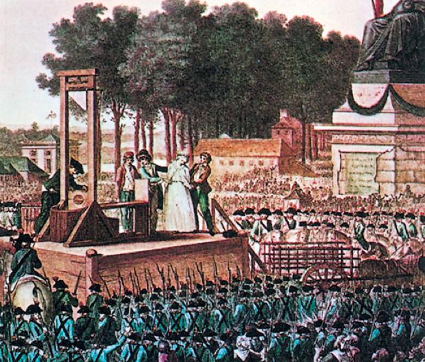 Decapitaciones Revolución Francesa