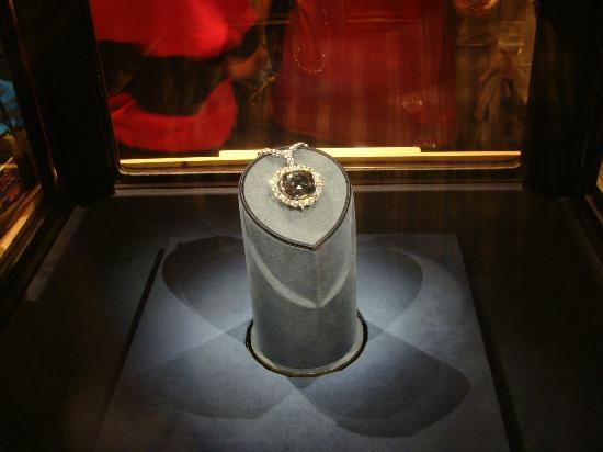 Hope Diamond en el museo de Harry Winston