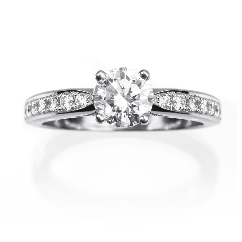 Anillos-solitario-de-diamantes-anillos-de-compromiso-ROYAL-D2. Joyerías Germán Madrid